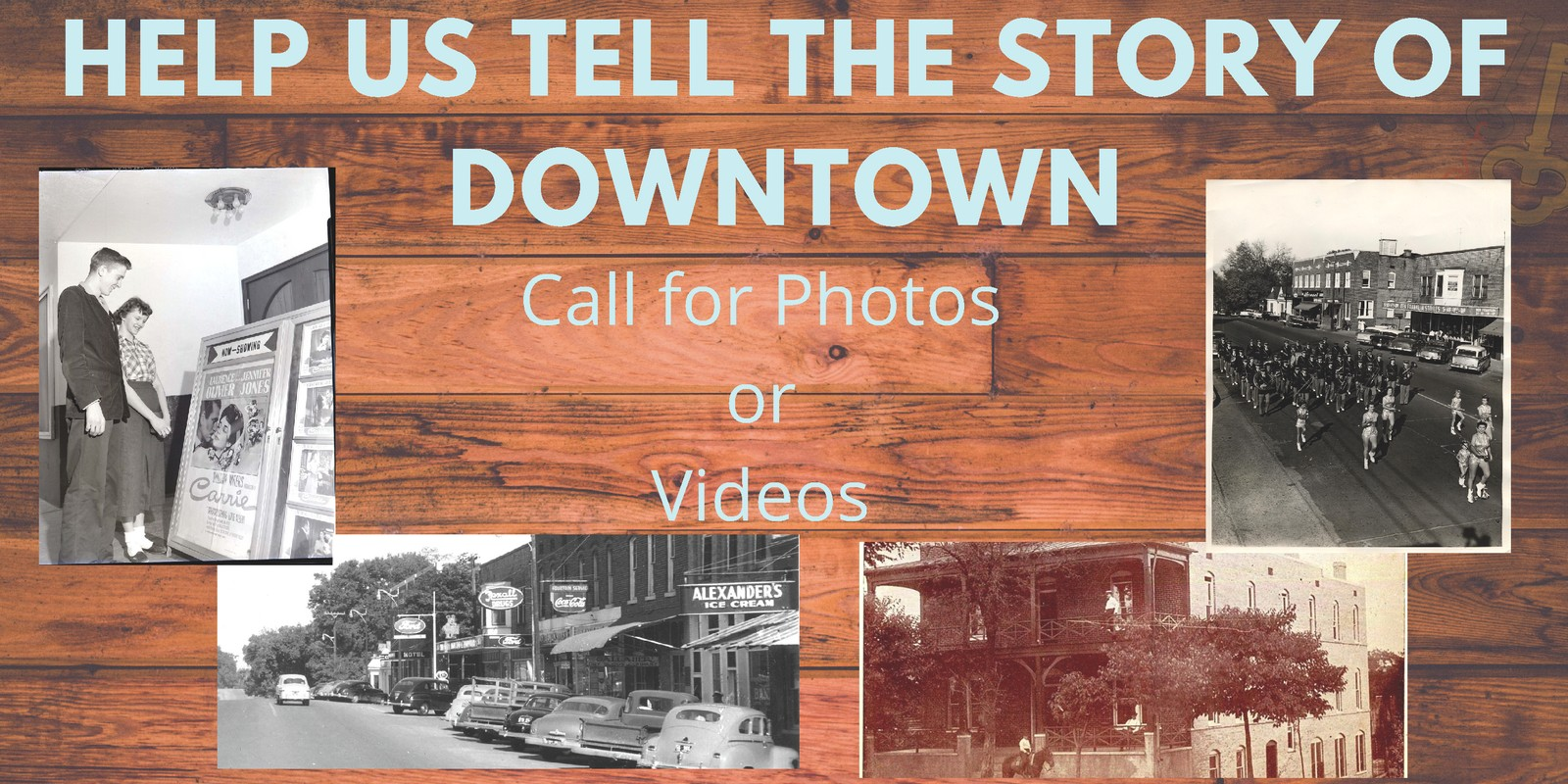 Help Us Tell the Story of Downtown