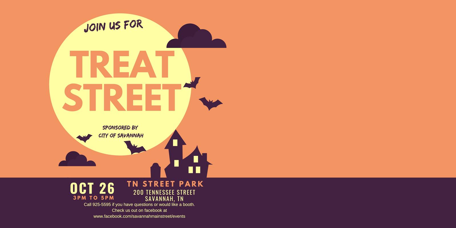 Treat Street at Tennessee Street Park – October 26, 2019