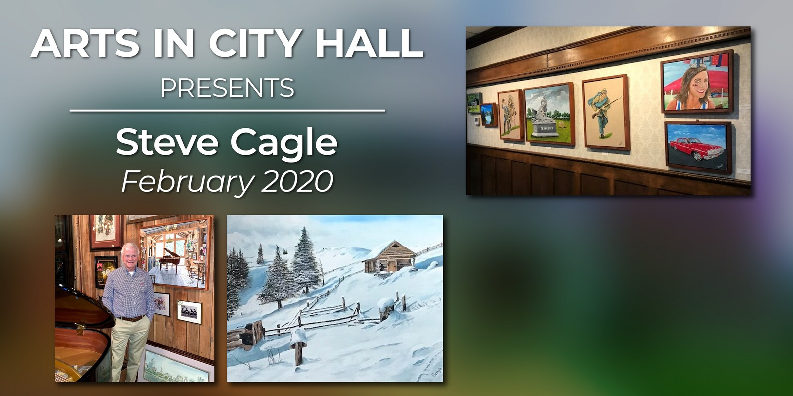 February 2020 Artist Showcase – Steve Cagle