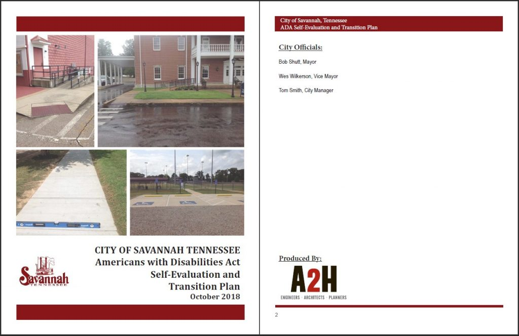City of Savannah ADA Transition Plan