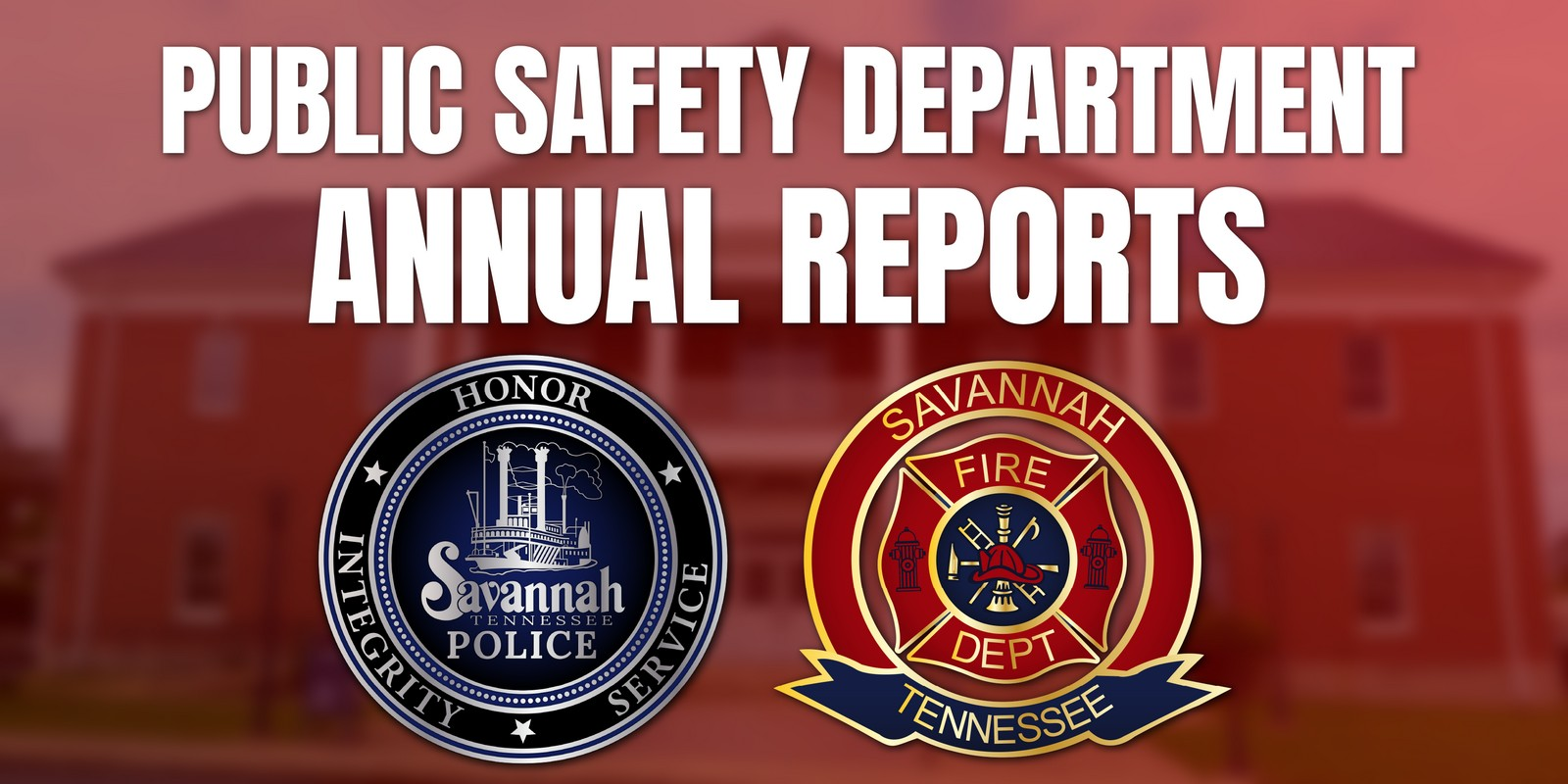 Public Safety Department 2019 Annual Reports