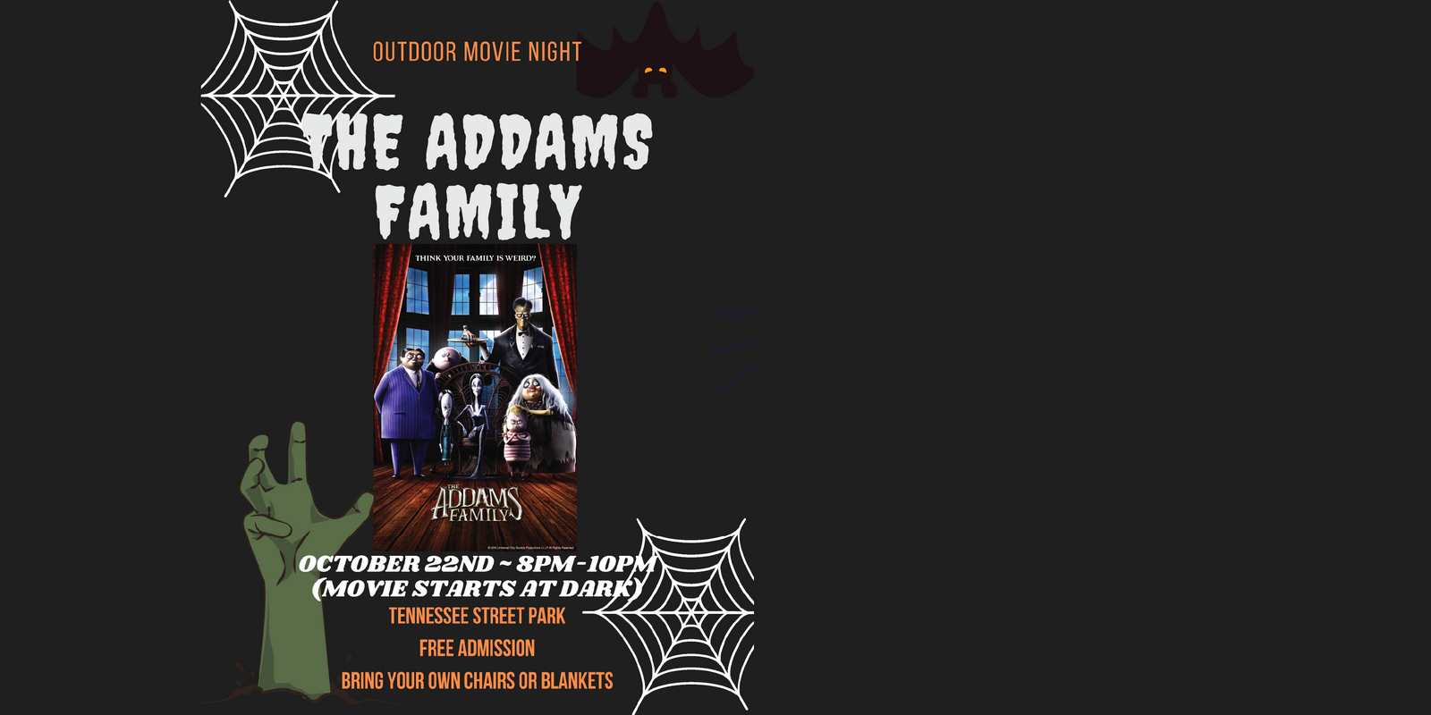 Outdoor Movie Night at Tennessee Street Park